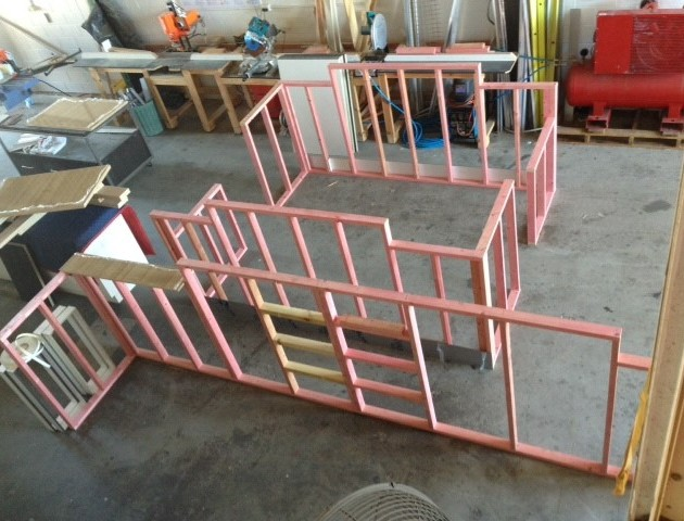 Construction of Angel Brows - framework