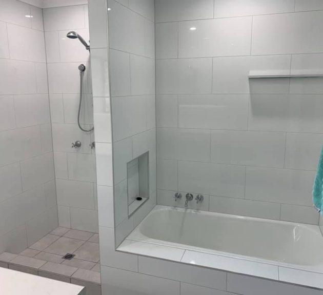 Remote Station Bathroom Renovation - After