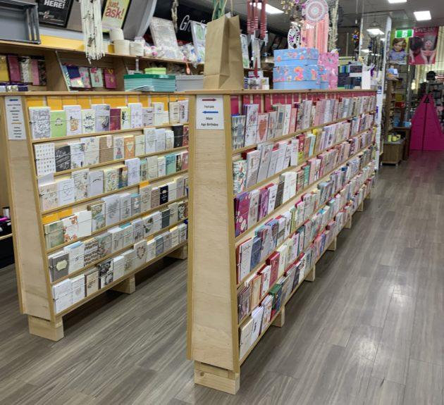 Cairns Central News - Custom Made Card Display