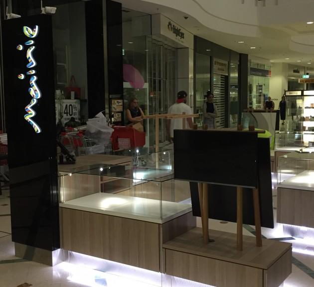 Mainie Kiosk - Installation