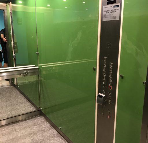 Skyrail Lift - right